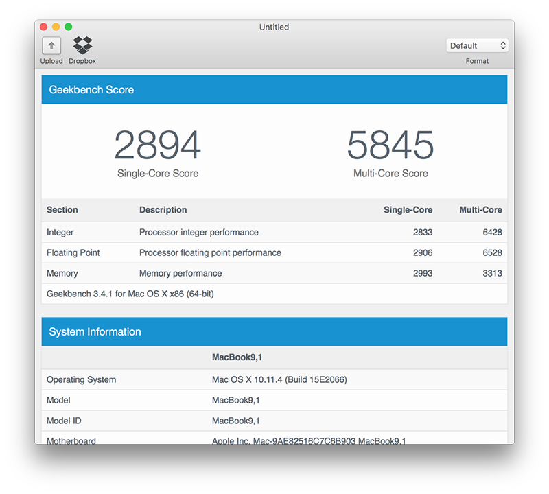 MacBook 12 inch 2016 performante
