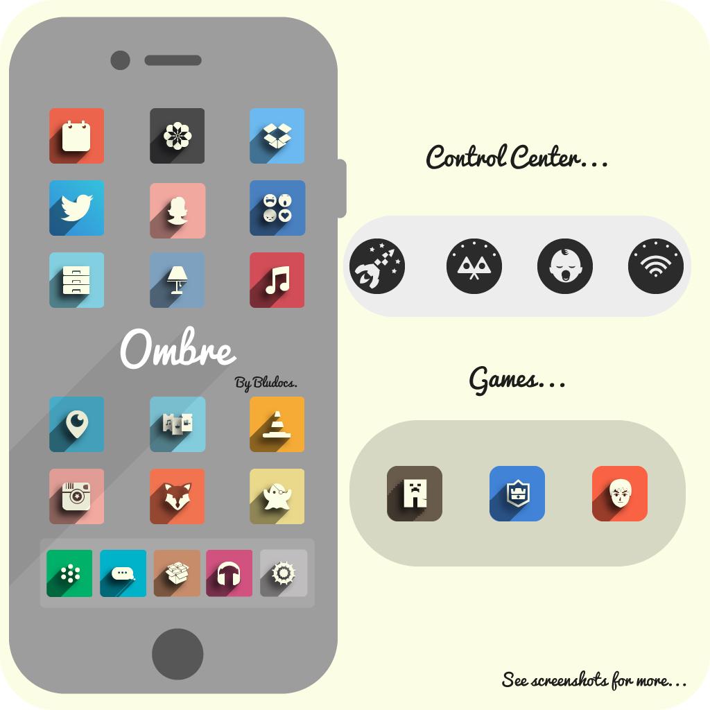 Ombre tema iOS 9