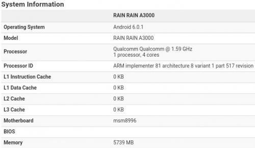 OnePlus 3 specificatii