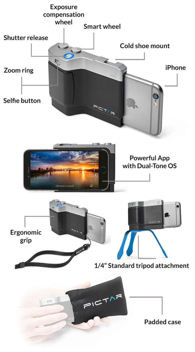 Pictar poze DSLR iPhone 6S 1
