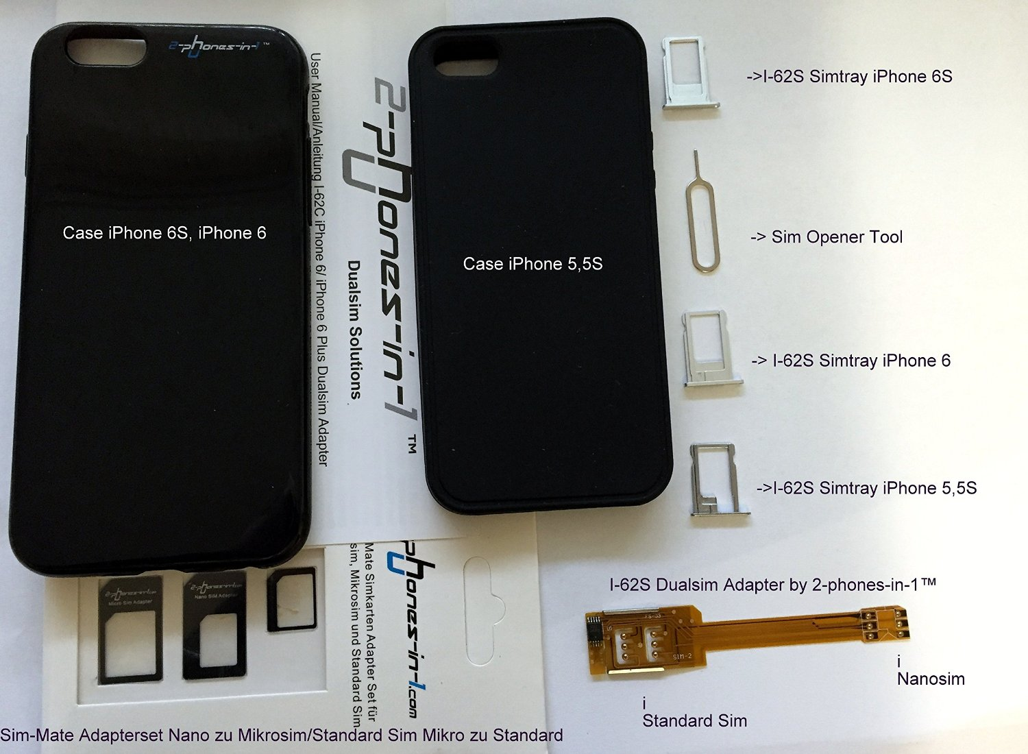 adaptor sim iPhone 6S