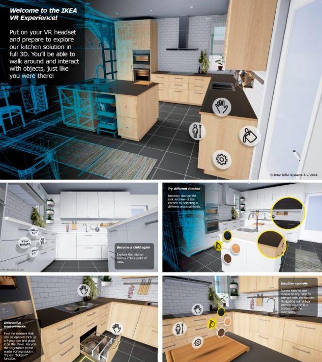 aplicatie pilot ikea VR experience