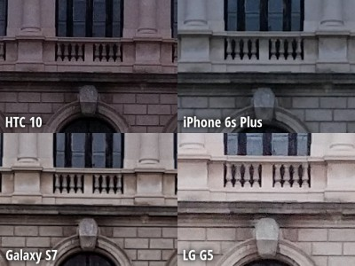 camera HTC 10 vs iPhone 6s Plus, Galaxy S7 vs LG G5 1