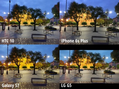 camera HTC 10 vs iPhone 6s Plus, Galaxy S7 vs LG G5 3