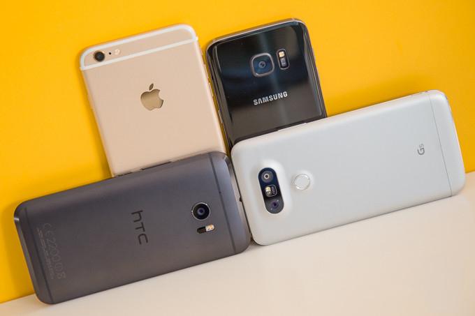 camera HTC 10 vs iPhone 6s Plus, Galaxy S7 vs LG G5 hero