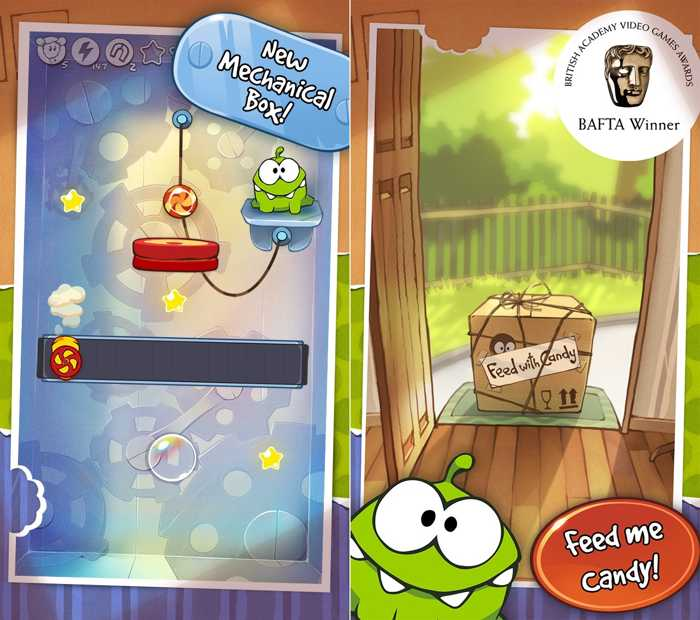 cut the rope reducere