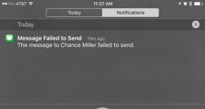 iMessage nu merge
