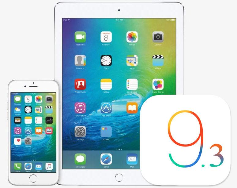 iOS 9.3 vs iOS 9.3.1 performante
