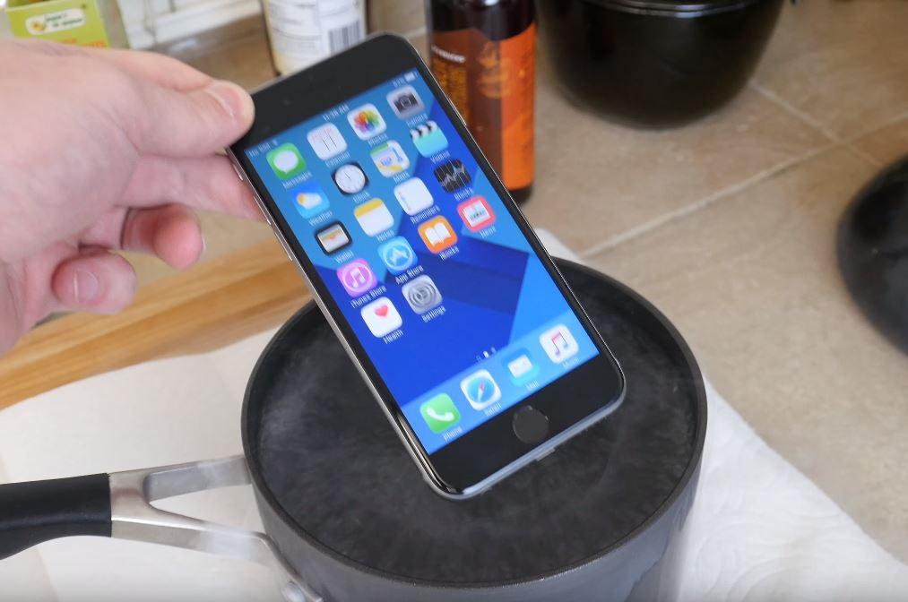 iPhone 6S soc temperatura