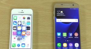 iPhone SE vs Samsung Galaxy S7