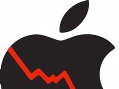 scadere actiuni Apple bursa