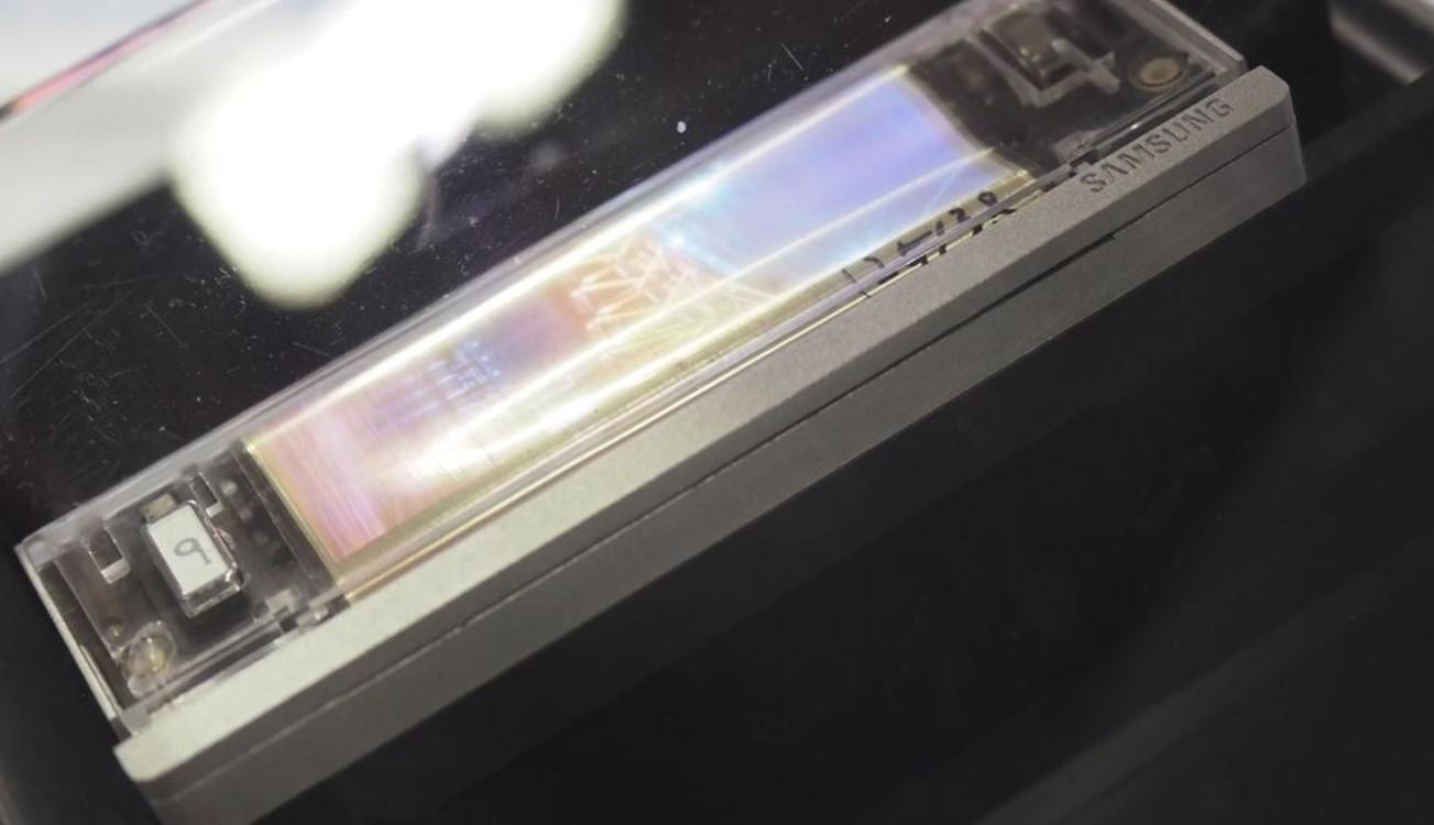 Samsung ecran OLED pliabil