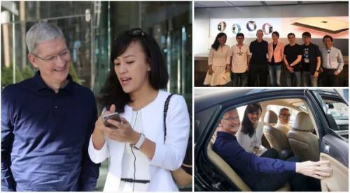Tim Cook China investitie