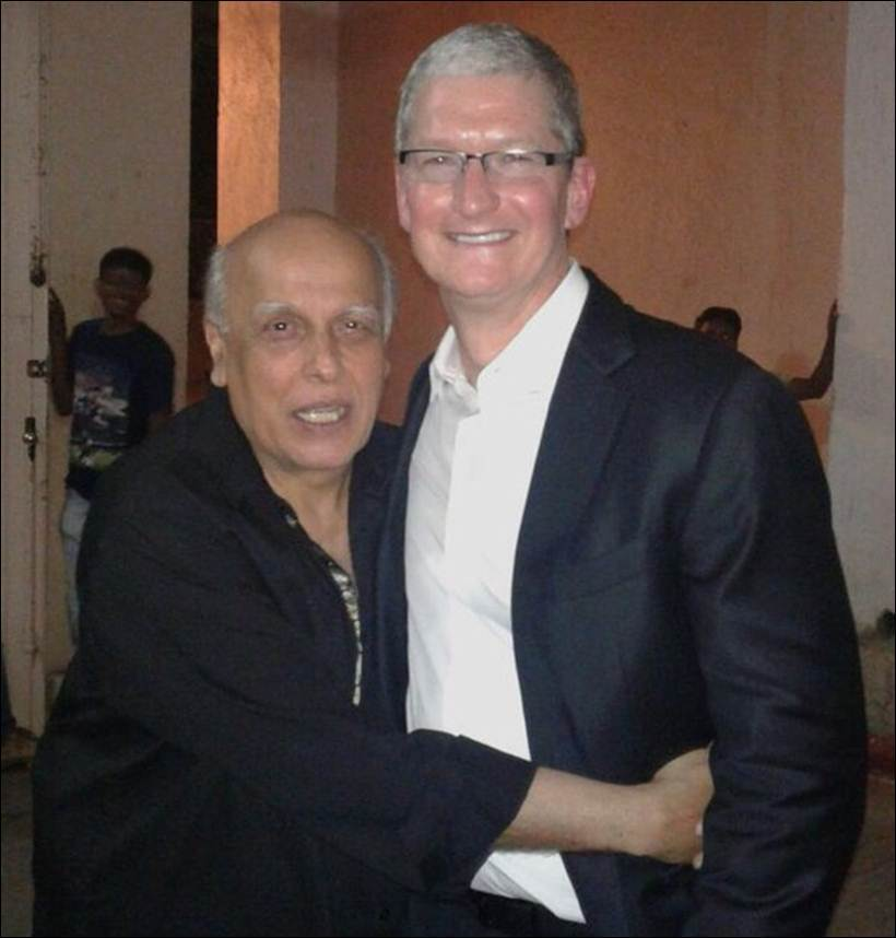 Tim Cook petreceri India 1
