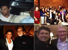 Tim Cook petreceri India