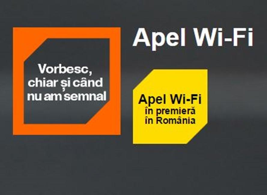 activare apel WI-Fi iphone Orange