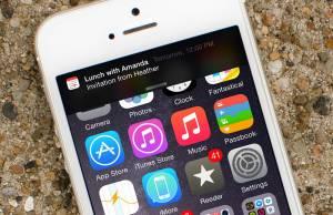 animatii notificari iPhone
