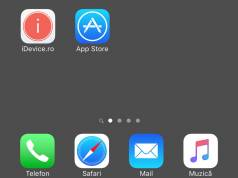 ascunde dock iOS