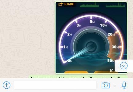 buton conversatii whatsapp messenger