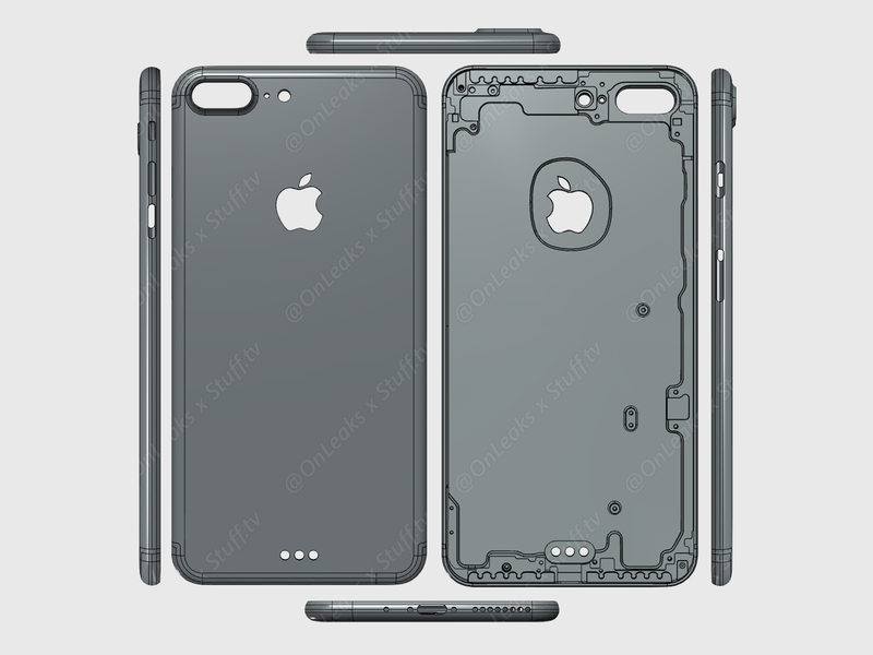 design oficial iPhone 7 Plus
