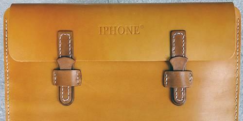 geanta piele iPhone