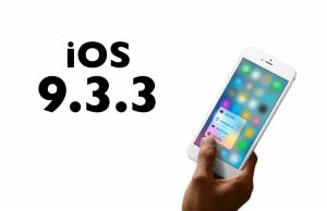 iOS 9.3.3 beta 1 performante