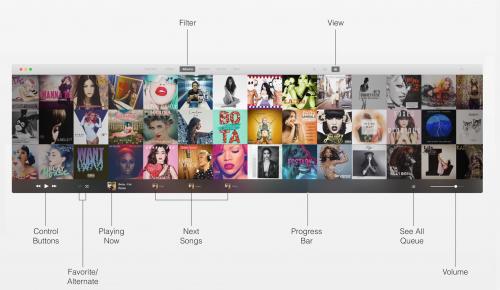 iTunes concept Mac 2