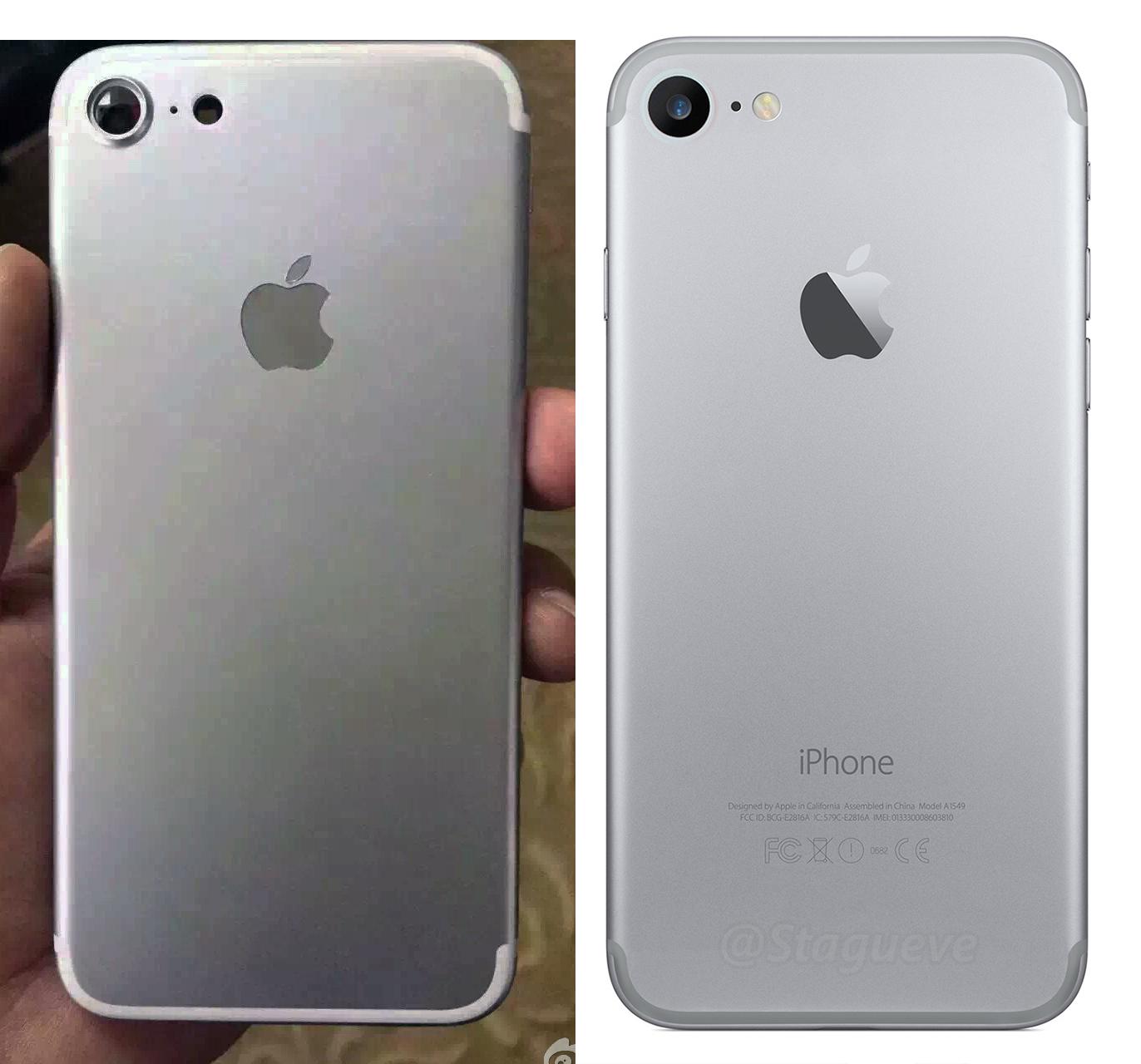 imagine reala iPhone 7