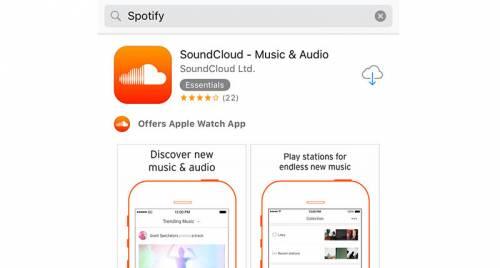 probleme cautari App Store