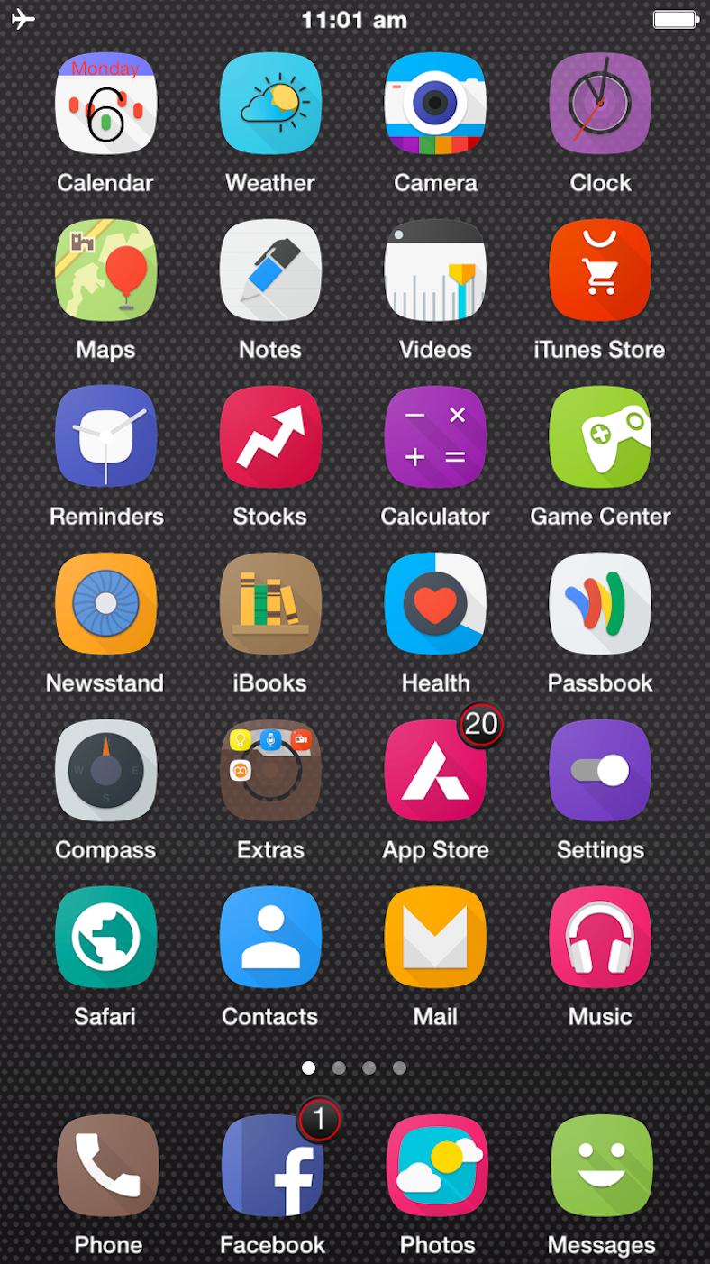 AC2 tema iOS 9