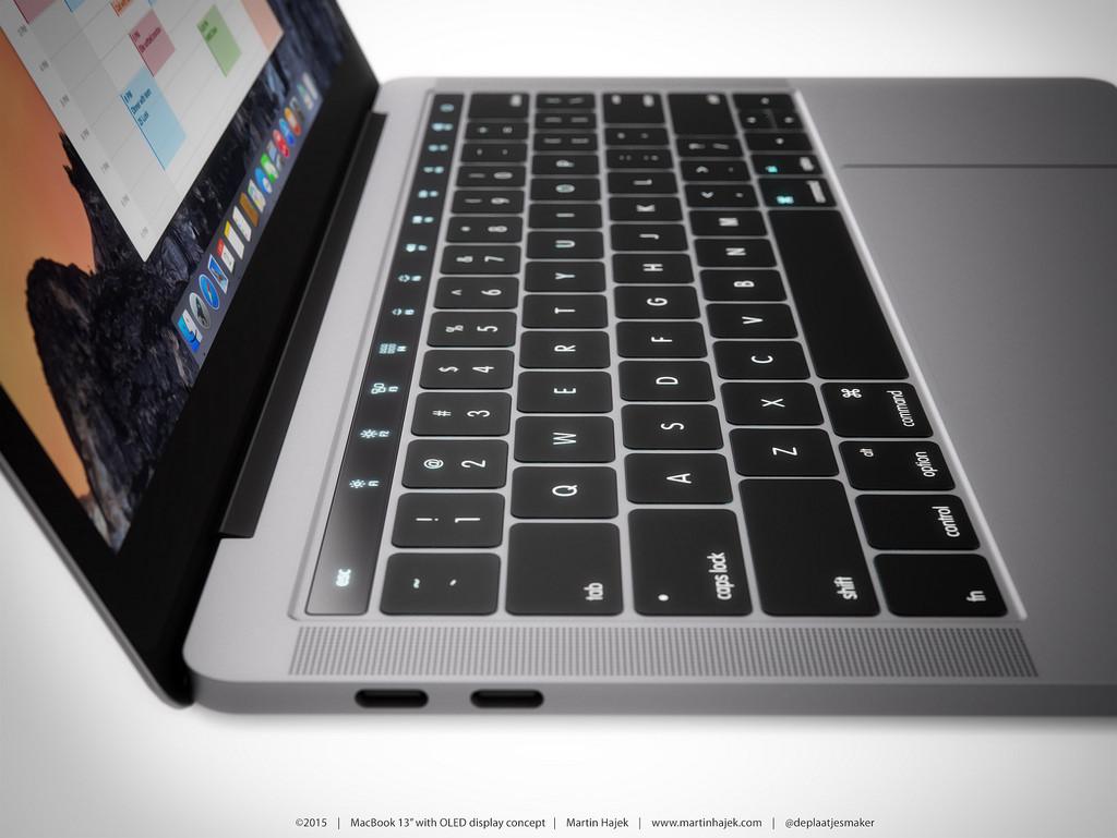 MacBook Pro 2016 OLED 4