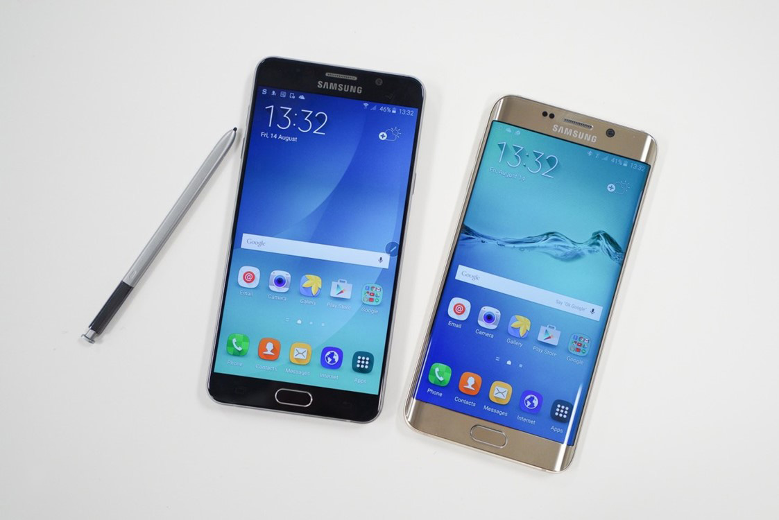 Samsung Galaxy Note 7 Edge ecran curbat