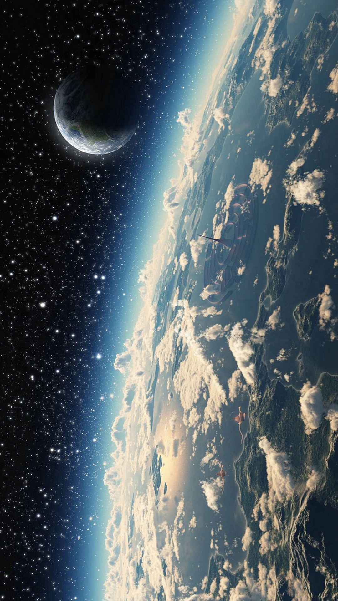 Space-Cosmos-Planet-Star-iPhone-6-plus-wallpaper | iDevice.ro