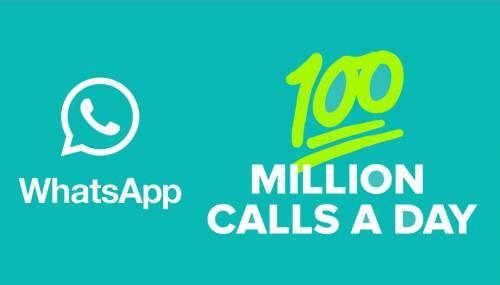 WhatsApp Messenger 100 milioane apeluri zilnic