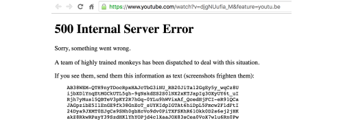 YouTube nu merge