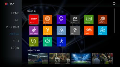 aplicatia Dolce Sport meciuri Euro 2016