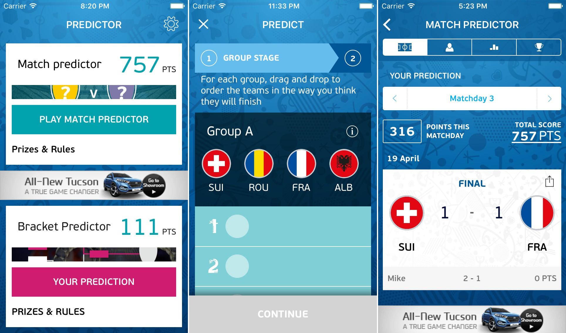 aplicatii Europ 2016 iPhone