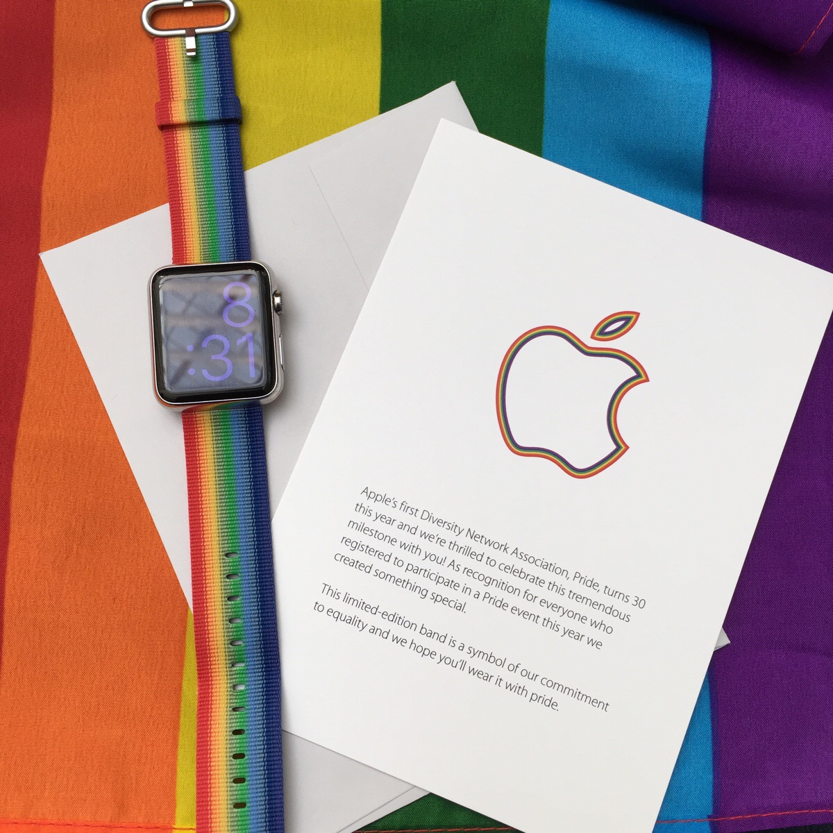 Apple Watch gay parade