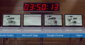 autonomie baterie laptop Microsoft
