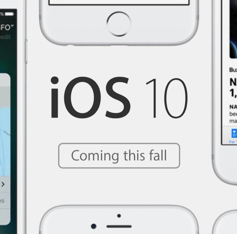 ce aduce nou iOS 10