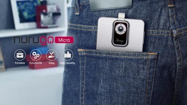cel mai mic microscop pentru smartphone