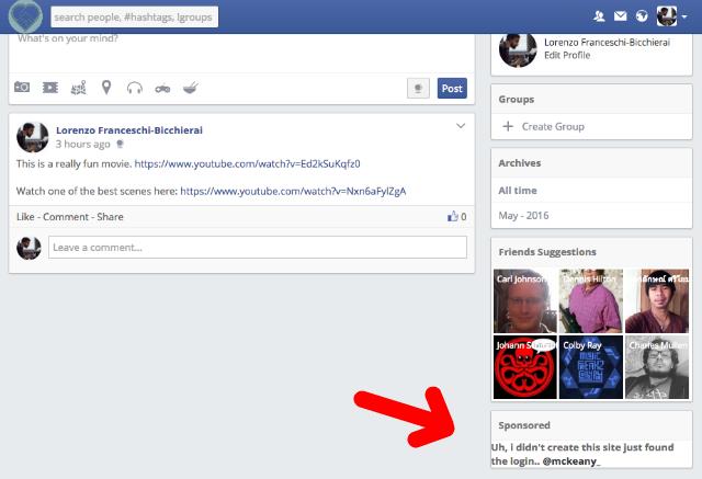 clona Facebook sparta