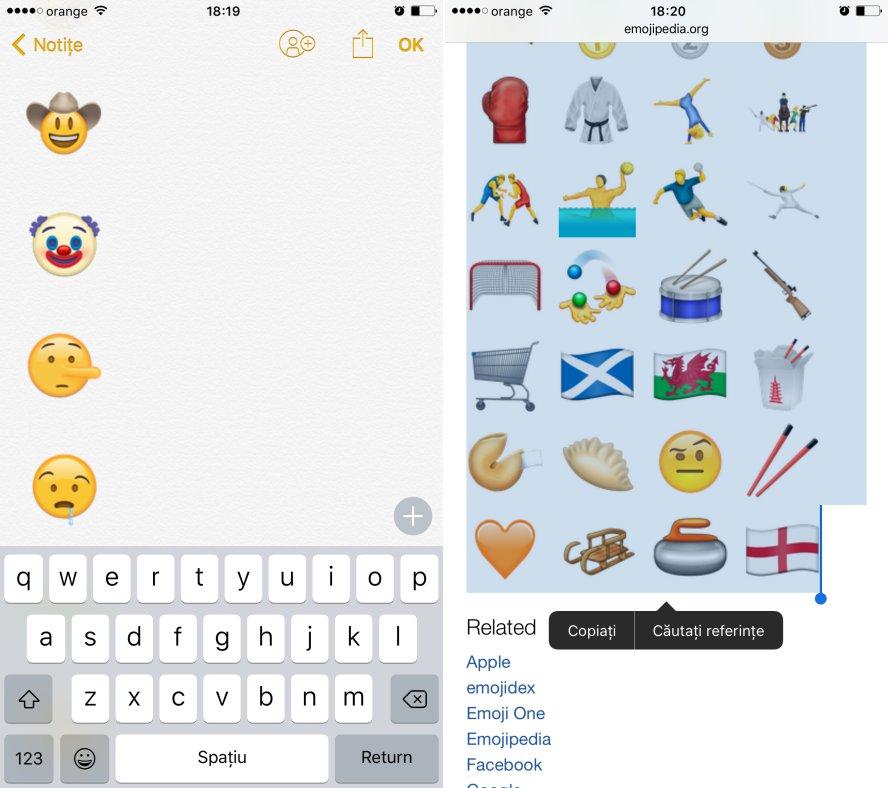 emoji noi iOS 10
