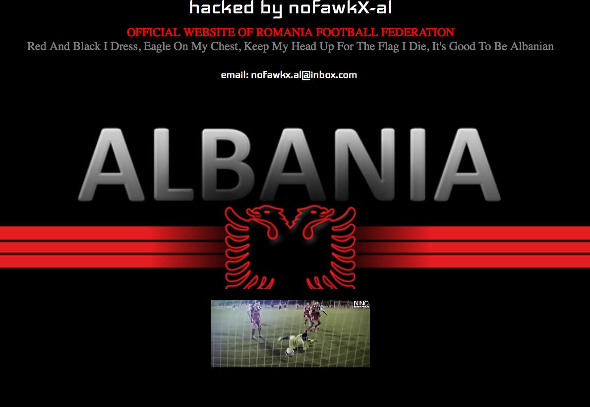 frf.ro spart hackeri albanezi