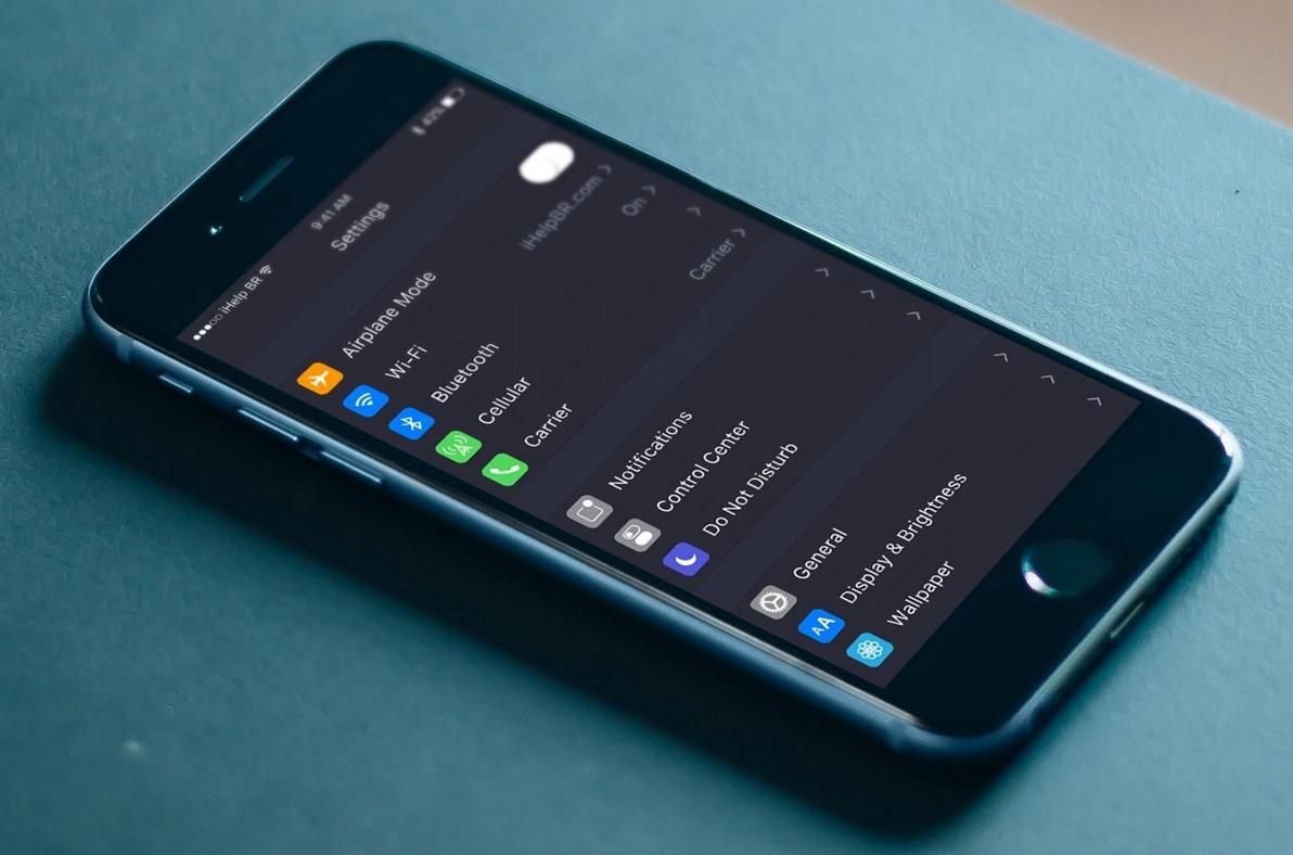 iOS 10 concept Night Mode