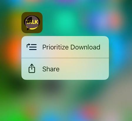 iOS 10 iCloud prioritizare descarcare