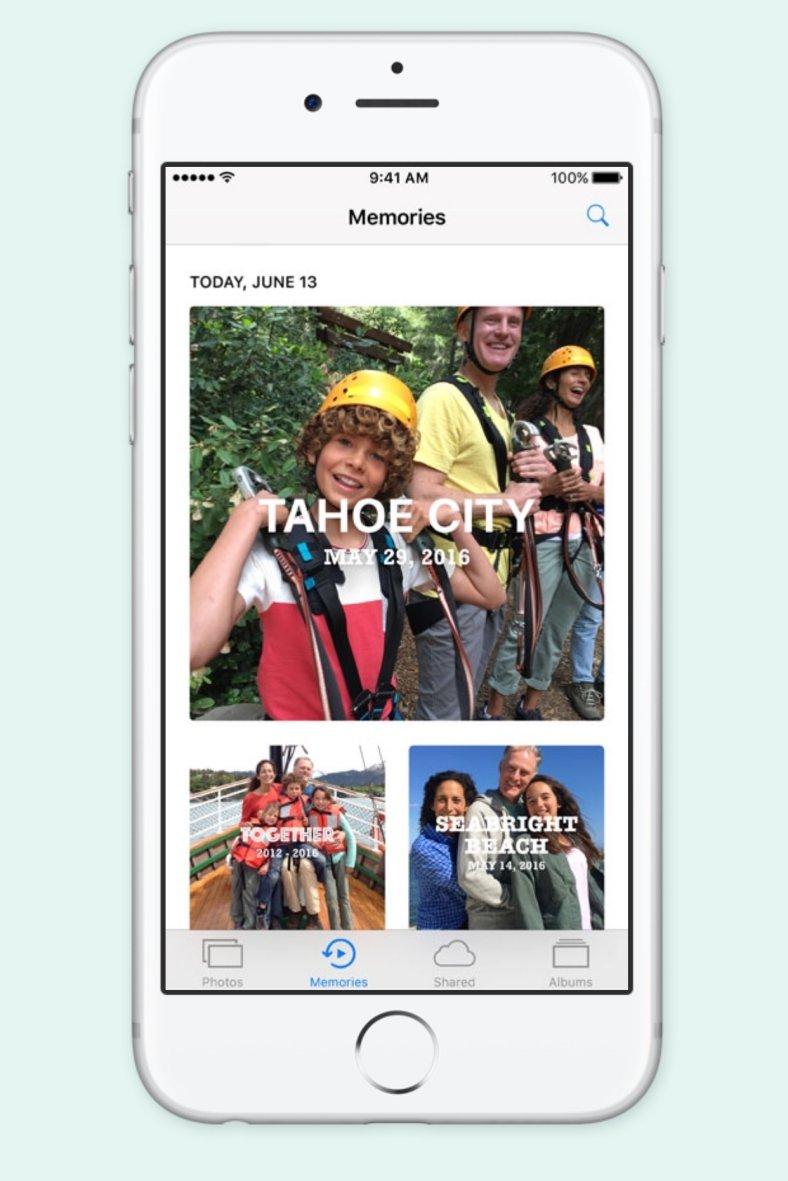 iOS 10 marcare poze