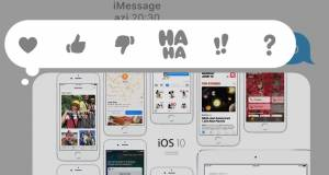 iOS 10 mesaje functii
