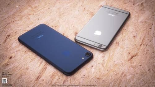 iPhone 7 albastru concept 1