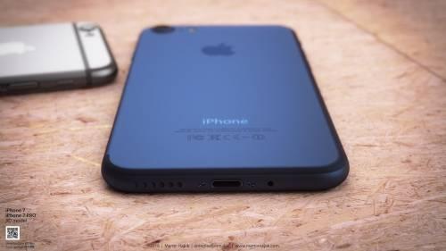 iPhone 7 albastru concept 2